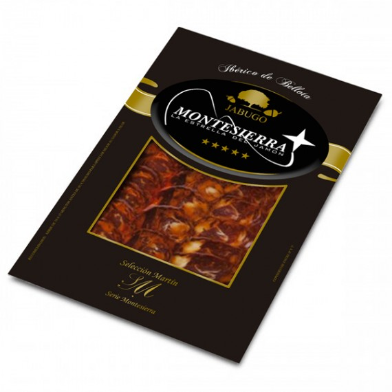 Sliced Iberian Acorn Fed Chorizo Cular