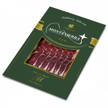 Sliced Iberian fodder fed ham 50%