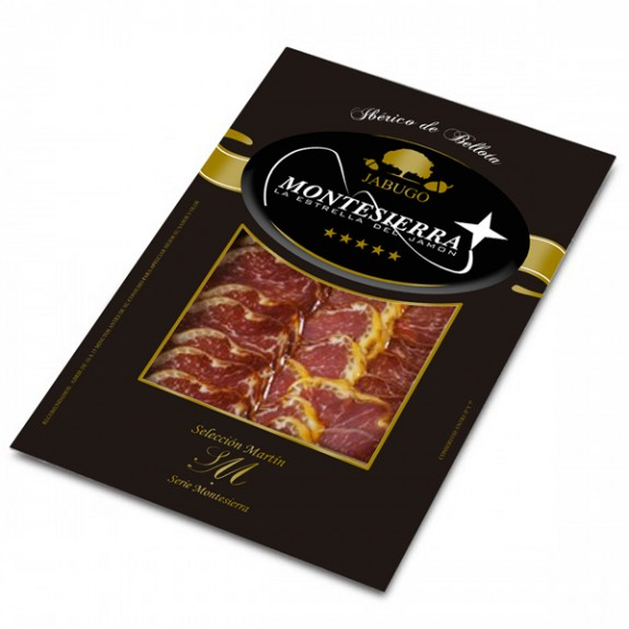 Sliced Acorn fed Iberian Cured Pork Loin 50%