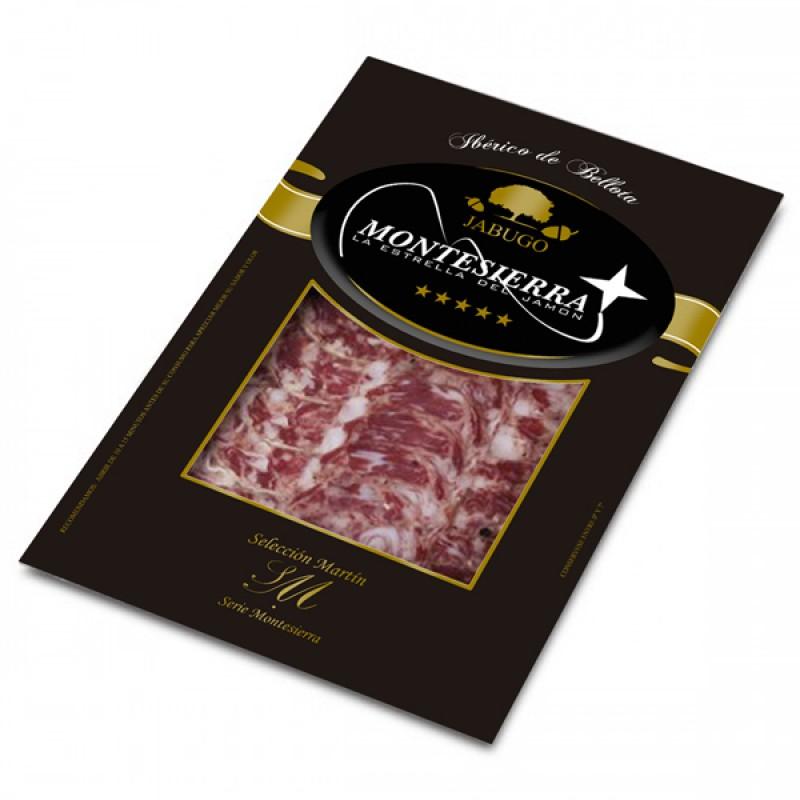 Sliced Iberian Acorn Fed Salchichón Cular